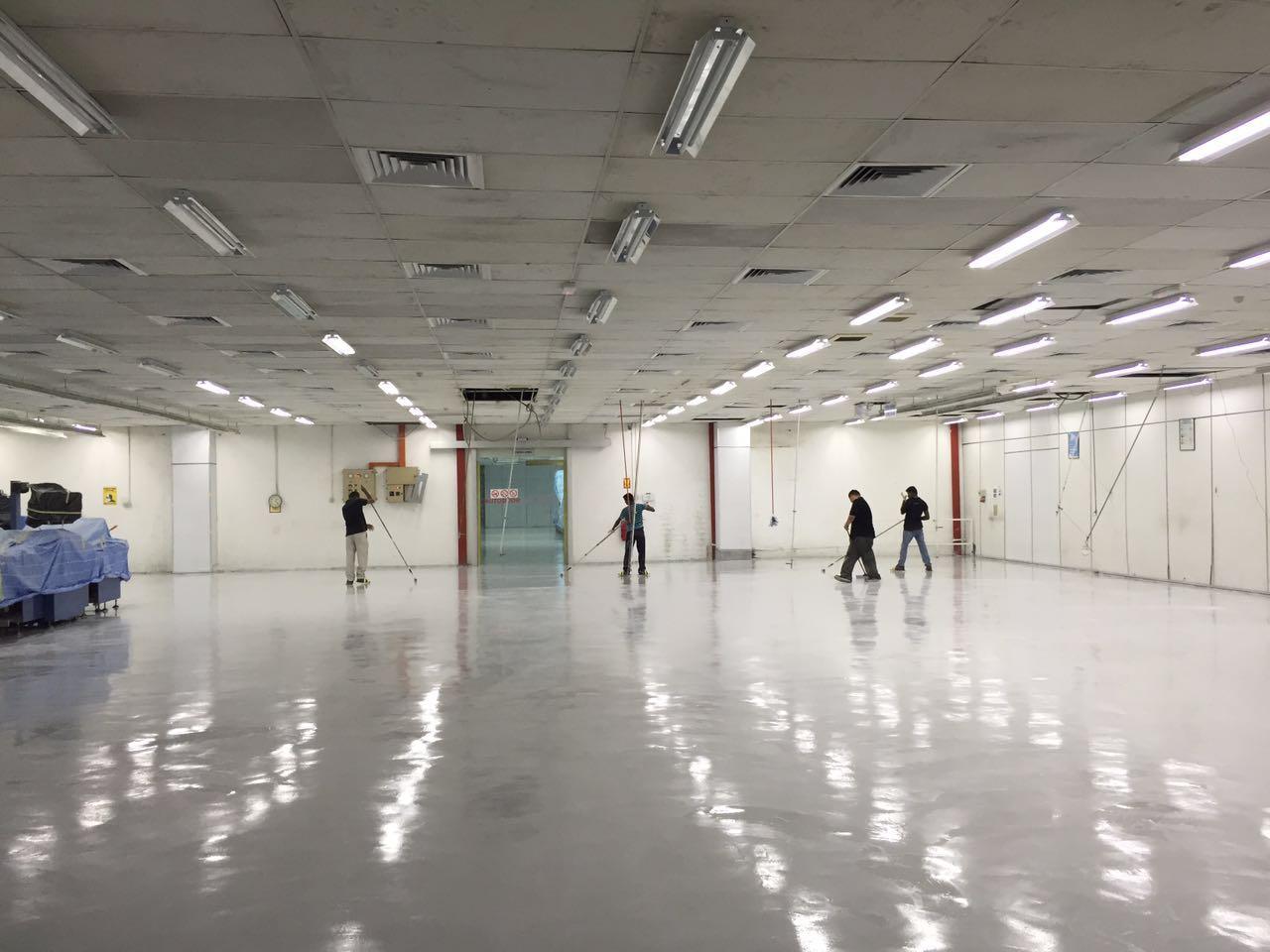 Balakong Factory Epoxy Flooring9