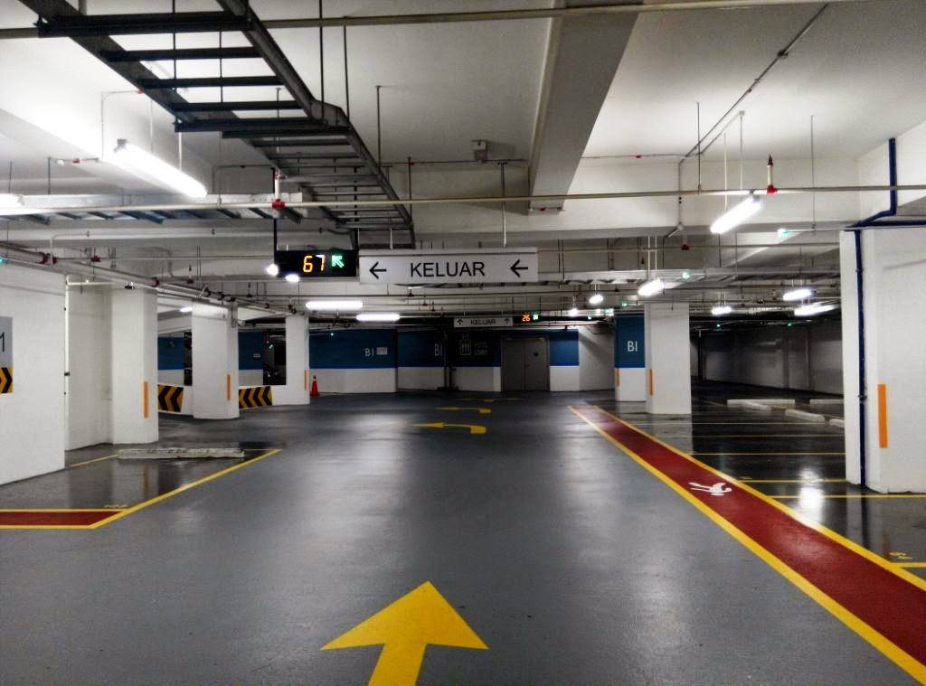 Car Park Lining Malaysia Highest Quality Marking Services