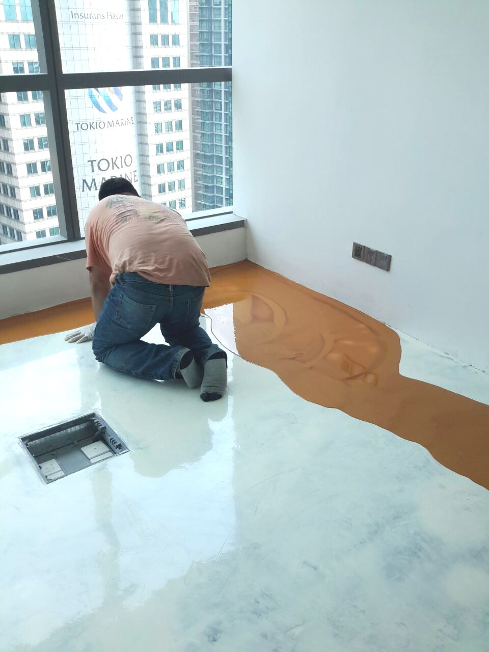 Epoxy Flooring Malaysia Commercial | Work Of References