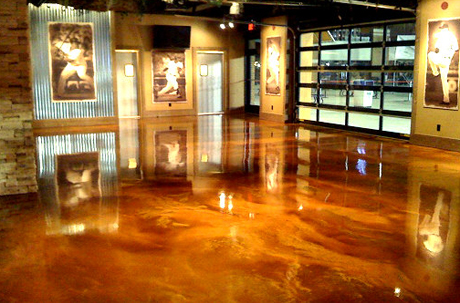 Metallic Epoxy Flooring Is One Of The Hottest Trends In Decorative Floor Topping